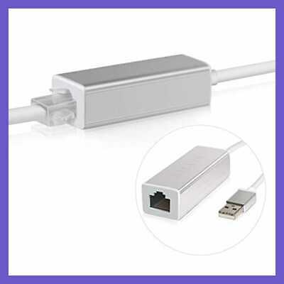LAN Adapter For Nintendo Switch Wii U Ethernet Wired Internet Connection