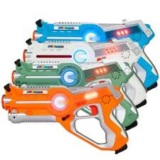 4 Pack Infrared Laser Tag Gun Battle Indoor Outdoor Multiplayer Activity Kids