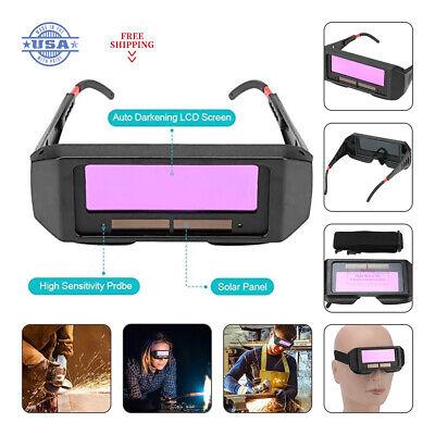 Solar Auto Darkening Welding Mask Glasses Eyes Protector Filter Lens Tools Usa