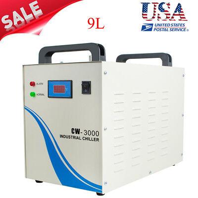 Industrial Water Chiller Machine 9l Cw-3000 60hz For Cnclaser Engraving Machine