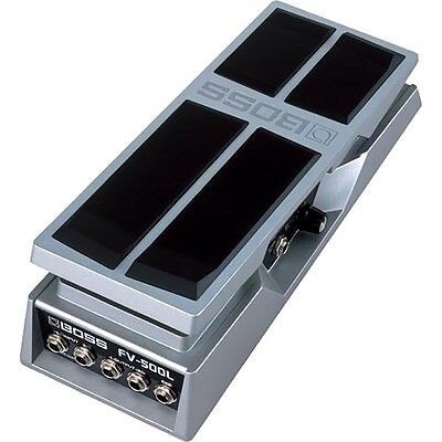 Stereo Volume Pedal - BOSS FV-500L Low Impedance Stereo Volume Effect Footswitch Guitar Pedal