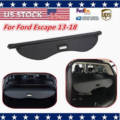 【Upgrade Version】Retractable Trunk Cargo Cover Shield for Ford Escape 2013-2018