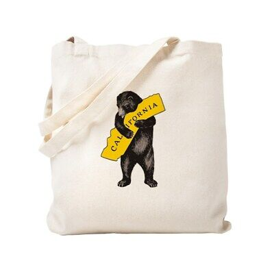 California Tote Bag (CafePress Vintage California Bear Hug Illustration Tote Bag)