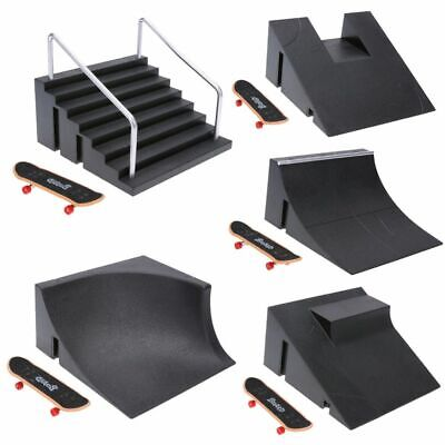 Fingerboard Skate Park Skateboard Mini Board Finger Ramps Toy Ultimate Tricks