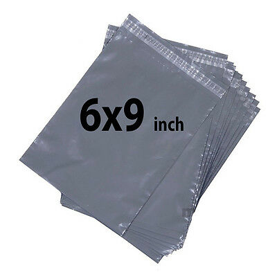 6x9 100X Grey Mailing Bags Strong Poly Postal Postage Post Mail Self Seal UKDC