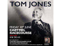 2 x Tom Jones tickets & A Day at the Races!!- Cartmel Racecourse - 30th June