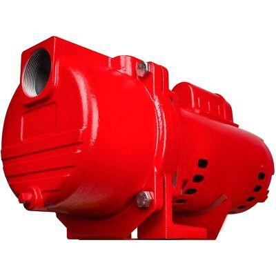 Red Lion 77 Gpm 2 Hp Self-priming Cast Iron Sprinkler Pump W Brass Impeller
