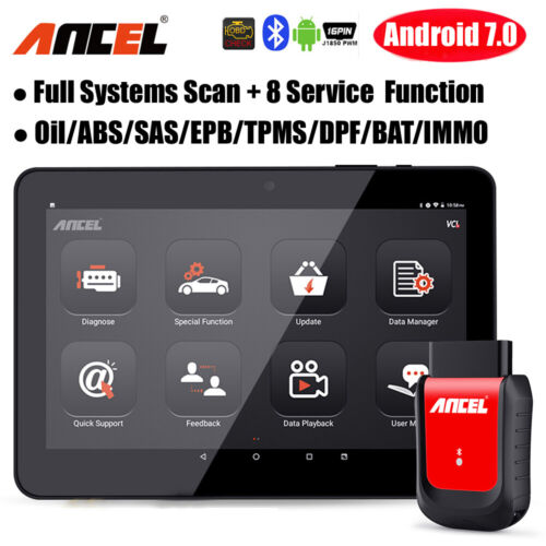 2020 Automotive OBD2 Code Reader WIFI All system Diagnostic ABS EPB Oil Reset