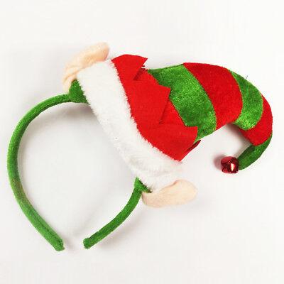 Weihnachtself Hut auf Stirnband für Weihnachten Kostüm
