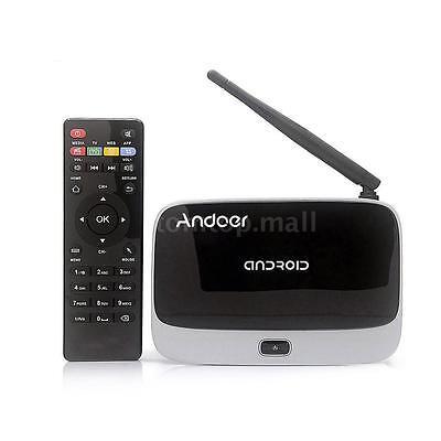 Android4.4 Smart TV BOX Fully Loaded Quad Core 2/32GB WIFI 1080P Media