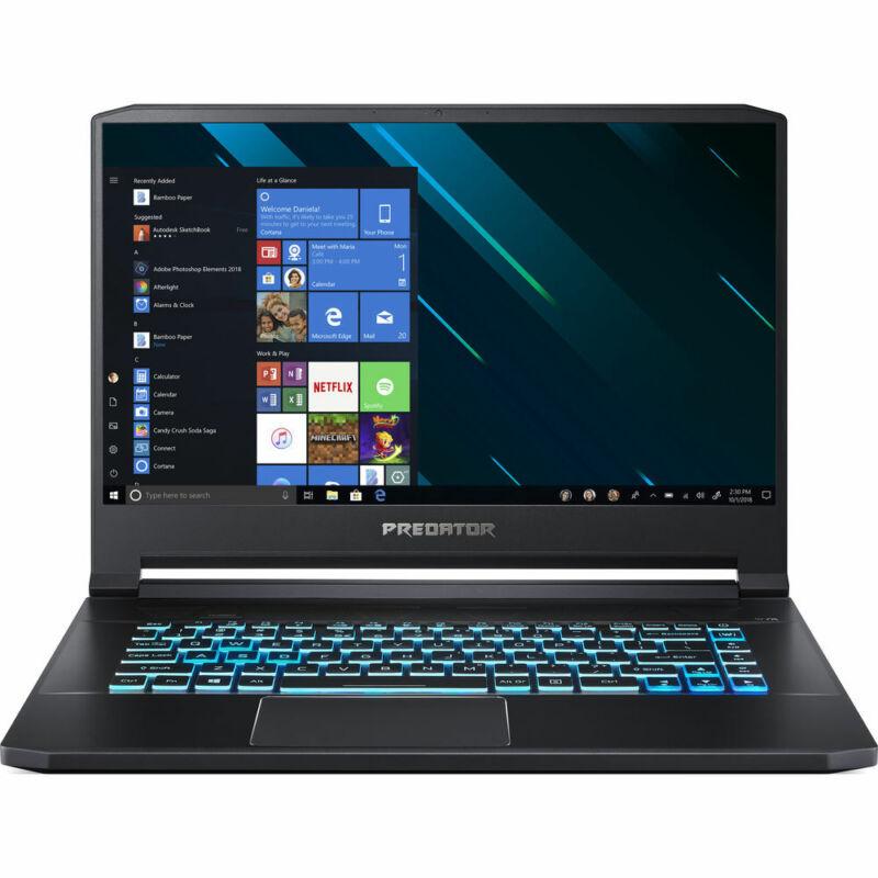 "Acer Predator Triton 500 15.6"" Intel i7-9750H 2.6GHz 16GB Ram 512GB SSD Win10Pro"