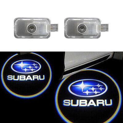Car Door Led Laser Projector Logo Ghost Shadow Light For Subaru Legacy IMPREZA