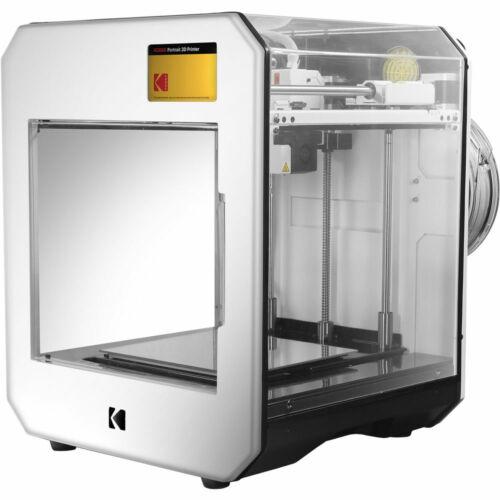 Kodak Portrait 3D Printer Dual Extruders Built-In Camera Print From USB Wi-Fi