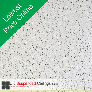 Tatra SE Suspended Ceiling Tiles 595x595mm 16 Tiles per box Armstrong 600x600