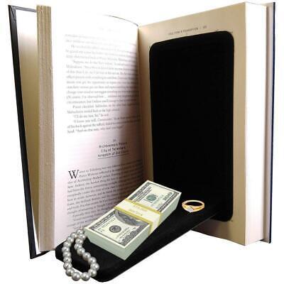 Streetwise Fake Large Hardbound Diversion Book Gun Safe Secret Compartment
