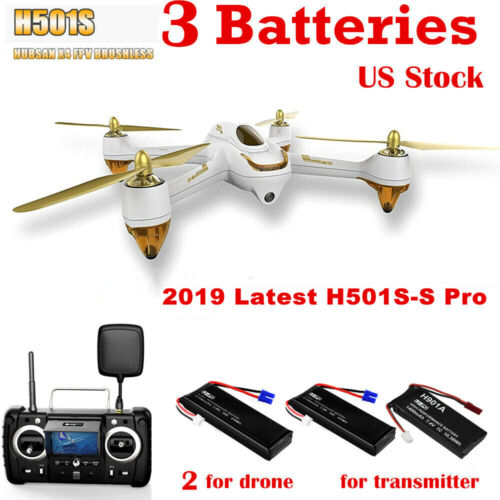Hubsan H501S Pro X4 5.8G FPV Drone Brushless 1080P GPS RTH Follow Me Quadcopter