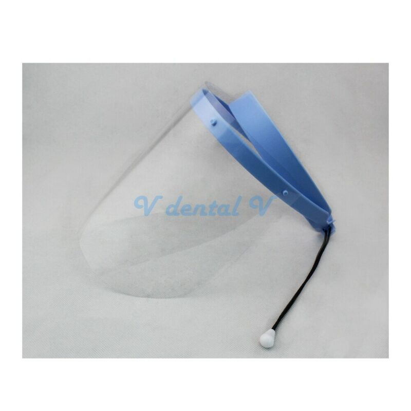 Anti-Fog Clear Face Shield Medical Dental Lab 1 frames + 10 visor