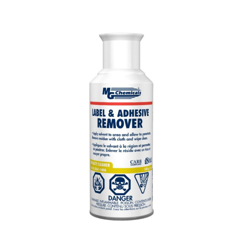 MG Chemicals 8361-140G Label and Adhesive Remover 140g Aerosol Can NEW!!!