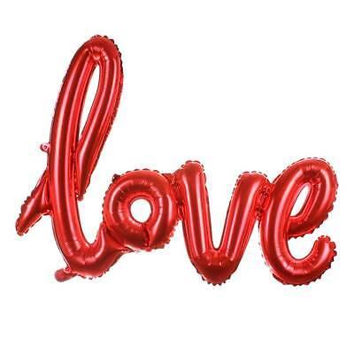 Palloncino pallone gonfiabile LOVE Amore San Valentino festa party ROSSO regalo