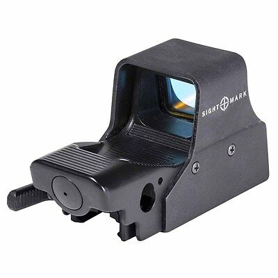 Sightmark Ultra Shot M Spec Reflex Sight W  Qd Lever   Red Circle Dot   Sm26005