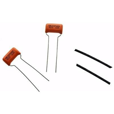 5X 0.1uf 200V Sprague 225P ORANGE DROP Guitar Bass Tone Capacitors 225P200V 104K