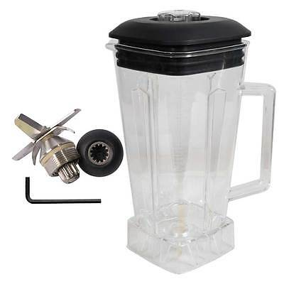 Vitamix Replacement 64oz Polycarbonate Container Jug W Cover 6 Blade Assembly