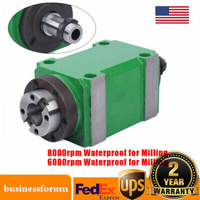 Bt30 Taper Spindle Unit 724 Mechanical Power Head Lever For Milling Us Sale