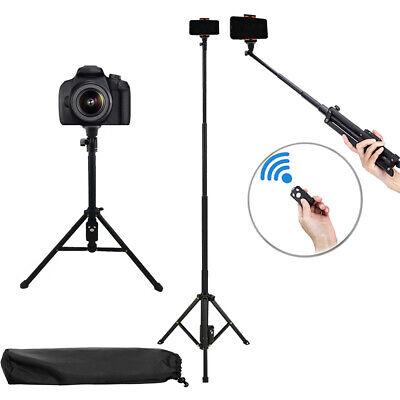 "PRO Selfie Stick Monopod 54"" Extendable Tripod Stand w/ Bluetooth Remote i PHONE"