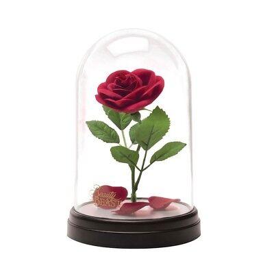 Rosen Lampe (Disney - Die Schöne und das Biest Rose - Tischlampe | offizielles Merchandise)
