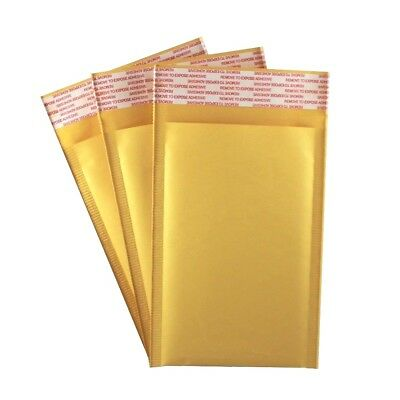 4 X 7 000 Kraft Bubble Mailers Self Seal Padded Shipping Envelopes - 25 Pack