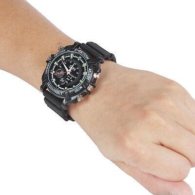 Spy Wrist Dv Waterproof Watch 32Gb Video Dvr Ir Night Vision 1080P Hidden Camera