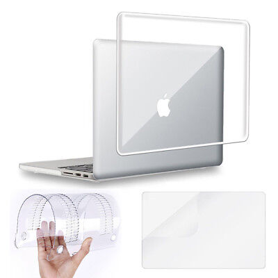 """Glossy Clear Hard Crystal Case Shell fr Macbook Air 11 Pro Retina 13/15"""" 12 inch"""