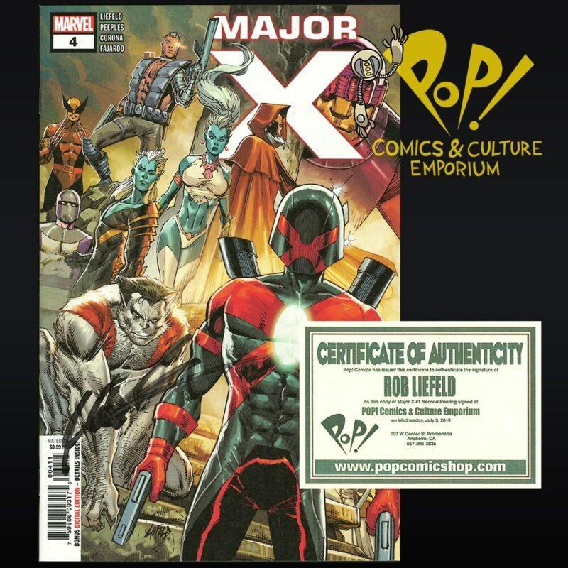 Major X #3 A 1st Print Rob Liefeld  NM