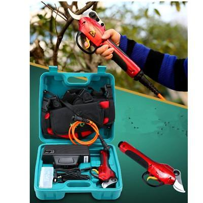 220V Electric Pruner Garden Pruning Shear Snips, Branch Cutter Secateurs&Pruners