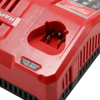 (Milwaukee M12&M18 12-Volt/18Volt Lithium-Ion Multi-Voltage Rapid Battery Charger)