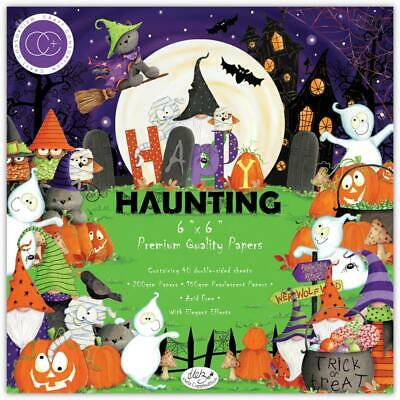 HALLOWEEN Collection 6x6 Inch Paper Pad Craft Consortium CCPAD022B New