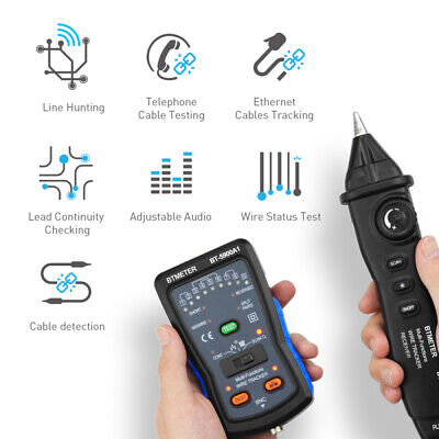 Cable-tester Tone-generator Wire Tracker Ethernet Toner Lan Network Cable Tester