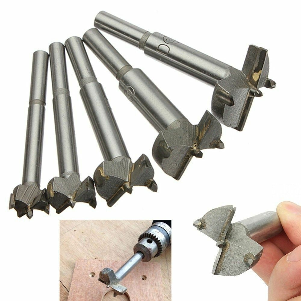Hand Drill Bits High Speed Steels Wood Drills Hands Tools Accessory New