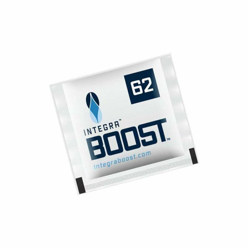 25 Pack Integra Boost RH 62% 8 gram Humidity 2 Way Control Humidor Pack
