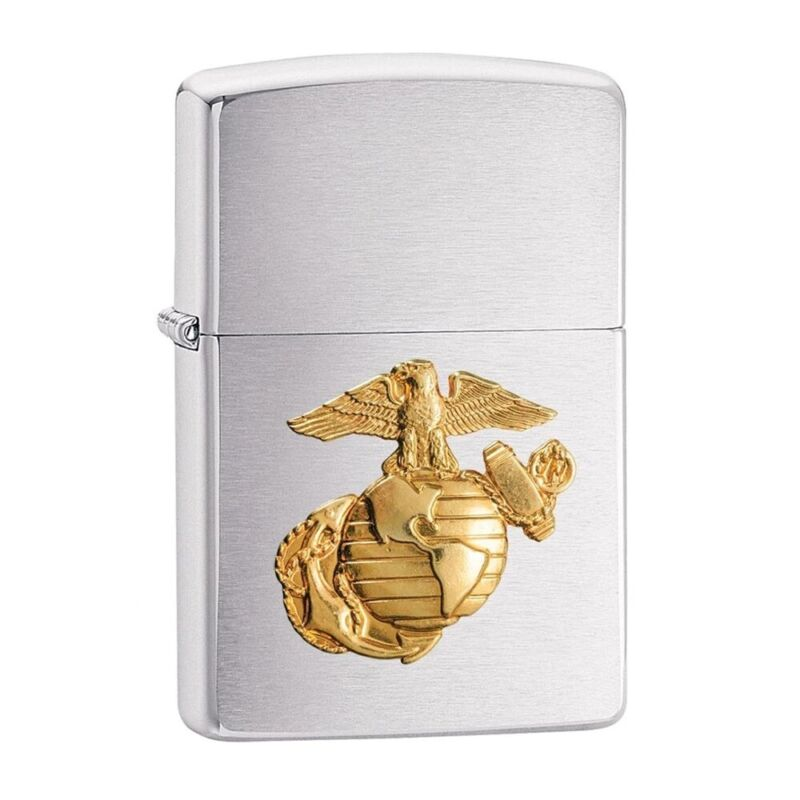 ZIPPO US Marine Corps Crest Emblem Lighter - 280MAR
