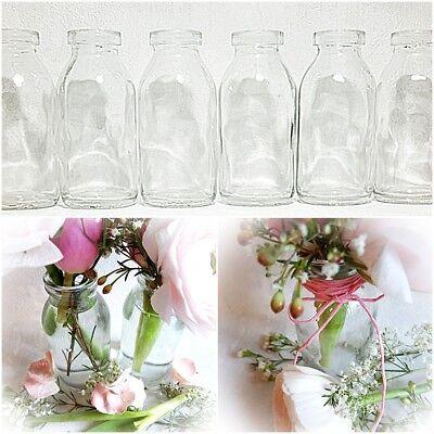 - Vasen (12 Dekoflaschen Glasflaschen H 10 cm Glasfläschchen Tischvase Vase Väschen Vasen)