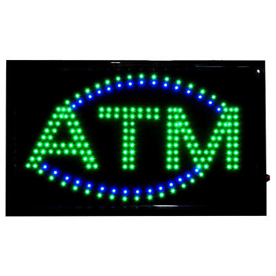 - LARGE Bright LED Neon Light ATM Sign Business Animated Motion Display 22