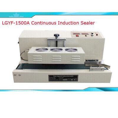 220v Continuous Induction Sealer Bottle Cap Sealing Machine Lgyf-1500a-i