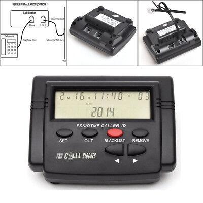 CT-CID803 LCD Call Blocker 1,500 Blacklist Caller ID Defense Box FSK/DTMF Signal