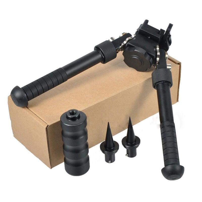 "360 Degrees Adjustable Tilt 4.75"" - 9"" V8 Atlas Bipod QD Mount For Rifle Hunting"