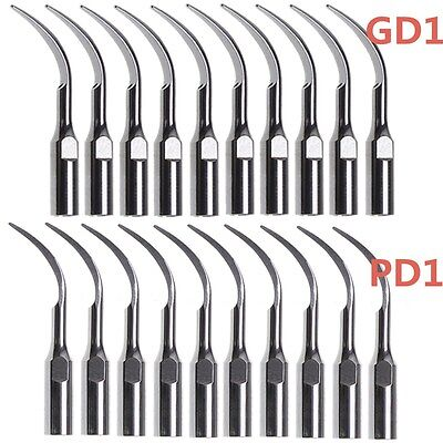 20ultrasonic Piezo Insert Scaling Scaler Perio Tips For Satelecdte Handpiece