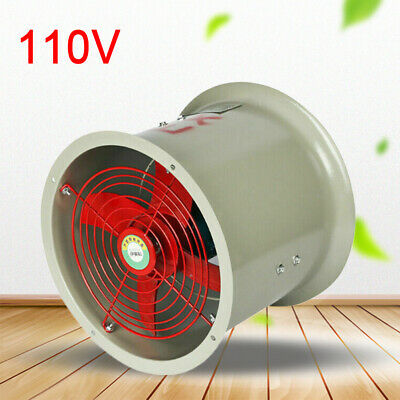 Cbf-300 Tube Axial Duct Fan Explosion Proof Direct Drive 180w 110v 2280m3h 62db