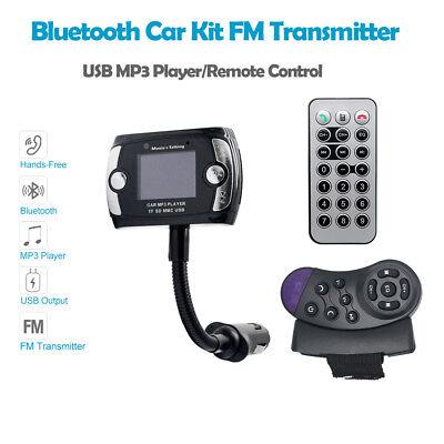 Auto Bluetooth FM Transmitter USB Ladegerät MP3 Player Freisprecheinrichtung