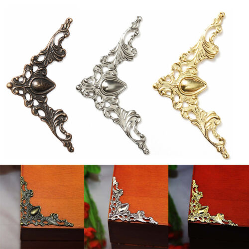 Frame Corner Brackets Applique Decorative Flower Scrapbook Decor ...