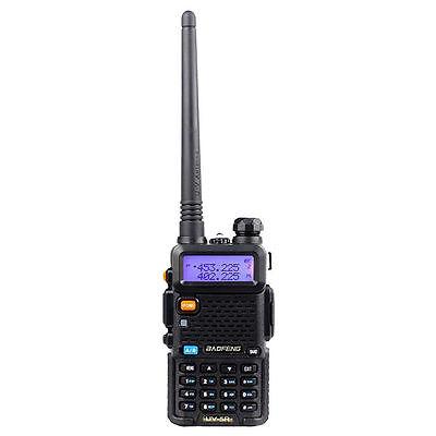 Baofeng UV-5R Dual-Band Two-way Radio VHF/UHF 136-174/400-520MHz FM Ham